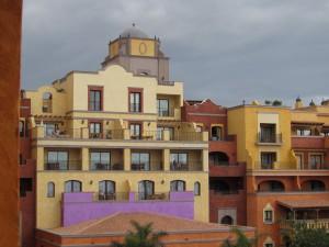 スペイン領カナリア諸島のホテル(西アフリカ沖)にて