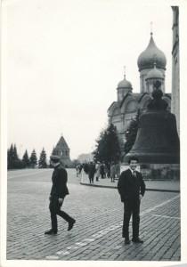 ナホトカから、ハバロフスク、そして、ようやくモスクワに着いた。