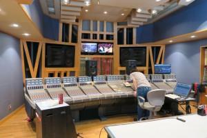 素晴らしいレコーディングスタジオでした。